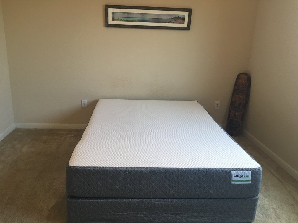 GhostBed mattress, queen size