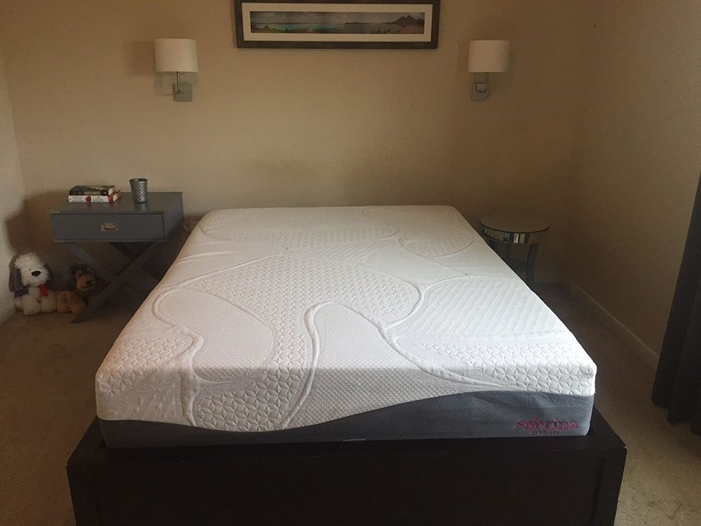 "sabrina 12"" mattress review"