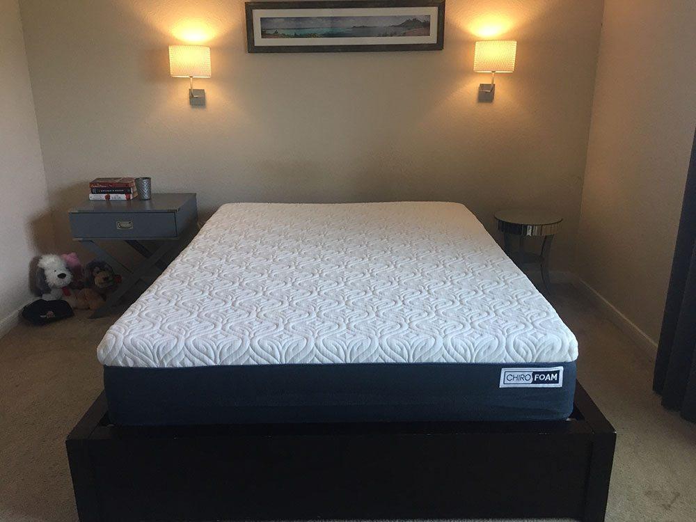 Chirofoam mattress, queen size