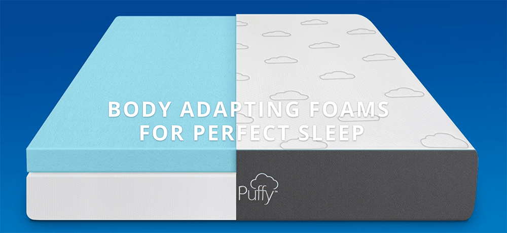 puffy mattress review layers