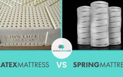 Latex Mattress vs. Spring Mattress 2021