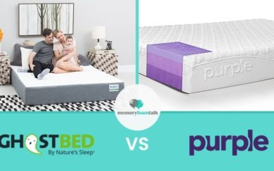 GhostBed vs. Purple Mattress Review