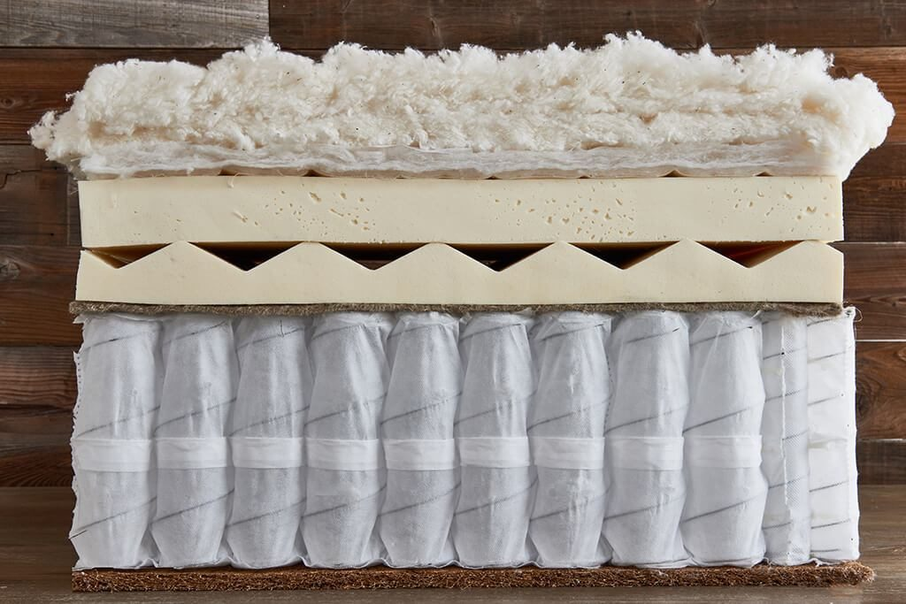 Brentwood Home Cedar mattress layers