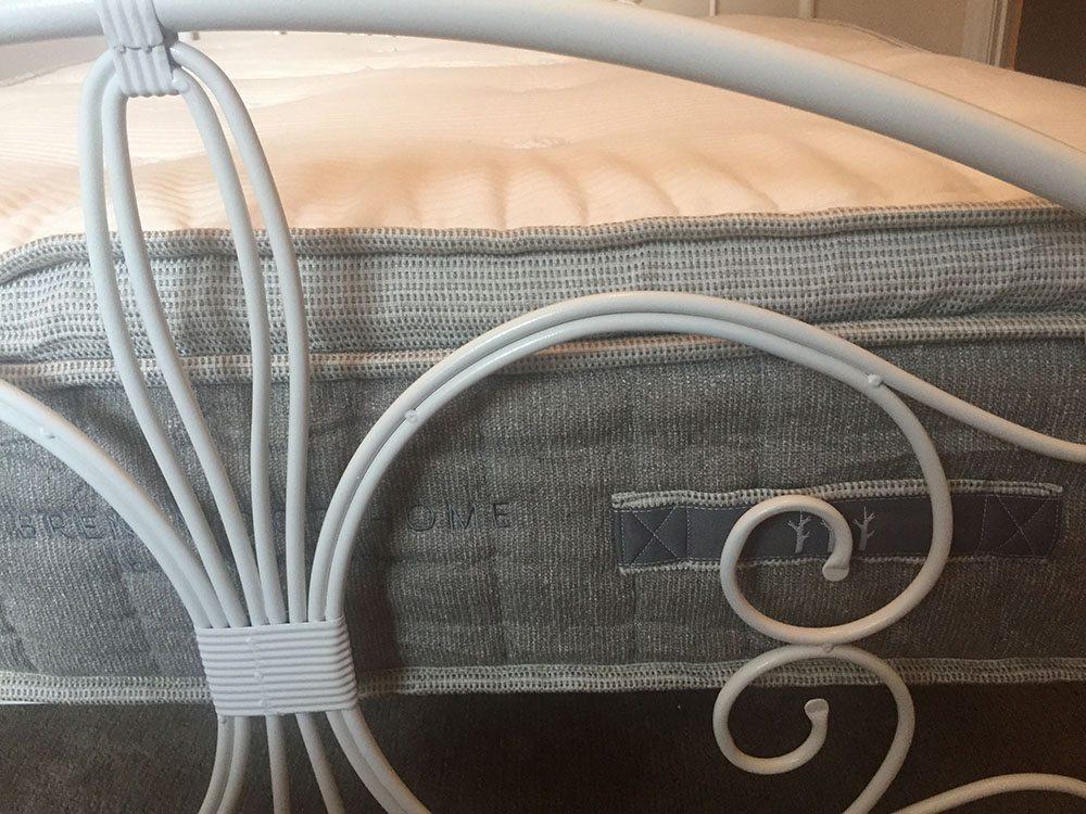 Brentwood Home Cedar mattress side profile