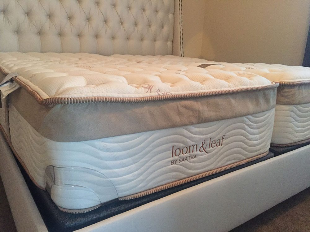 Loom and Leaf king mattress profile