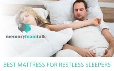 Best Mattress For Restless Sleepers 2021