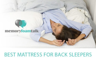 Best Mattress for Back Sleepers 2021