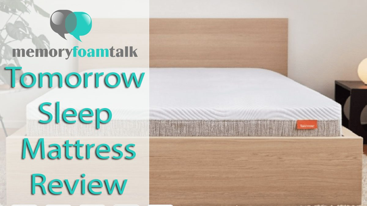 tomorrow sleep memory foam mattress review better than their hybrid