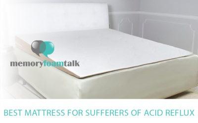 Best Mattress For Sufferers Of Acid Reflux 2020