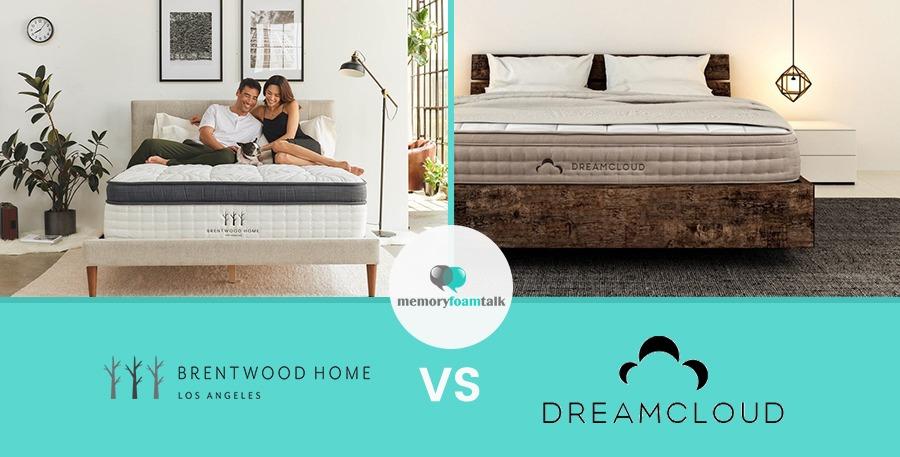 Brentwood Home Oceano Vs DreamCloud Sleep | Memory Foam Talk