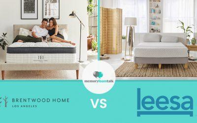 Brentwood Home Oceano vs. Leesa Hybrid