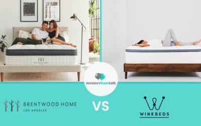 Brentwood Home Oceano vs. WinkBeds