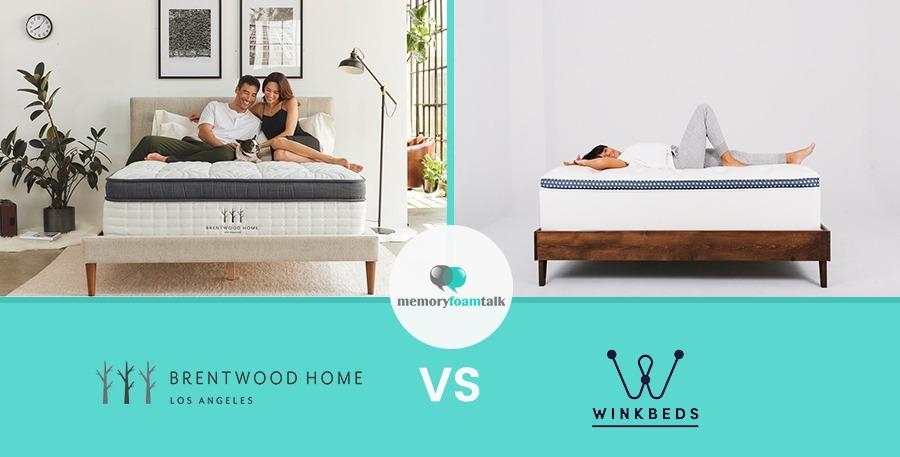 Brentwood Home vs. Winkbeds | Memory Foam Talk
