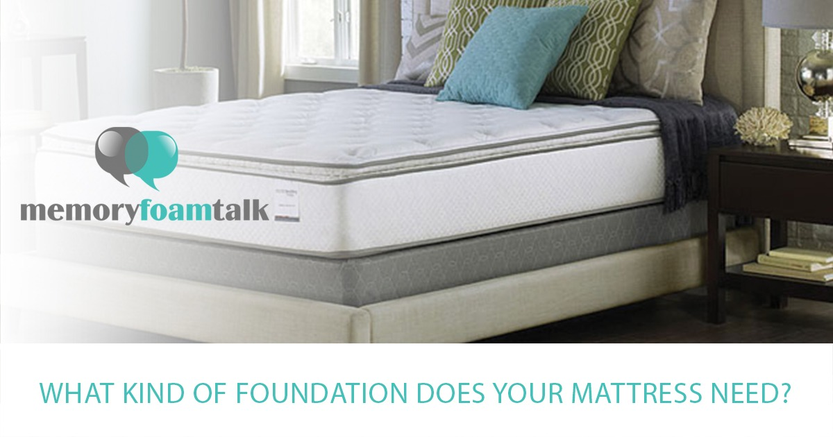What Kind of Foundation Does Your Mattress Need? - Memory Foam Talk
