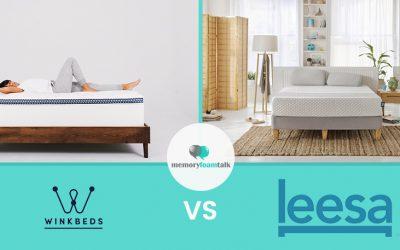 WinkBeds vs. Leesa Hybrid