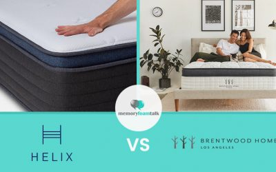 Helix Midnight Luxe vs. Brentwood Home Oceano