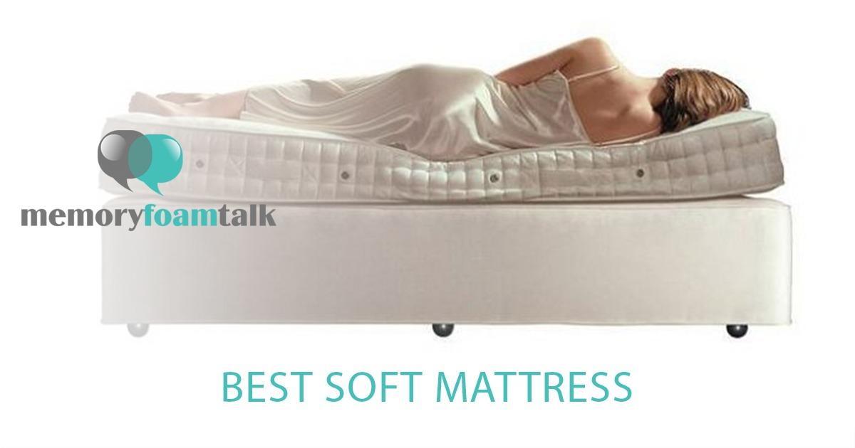 Best Soft Mattress Memory Foam Talk