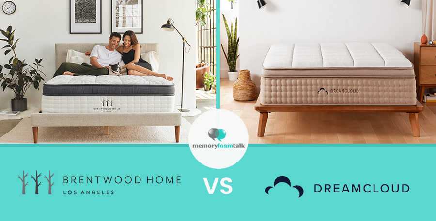 Brentwood Home Oceano Vs DreamCloud Sleep | Memory Foam Talk