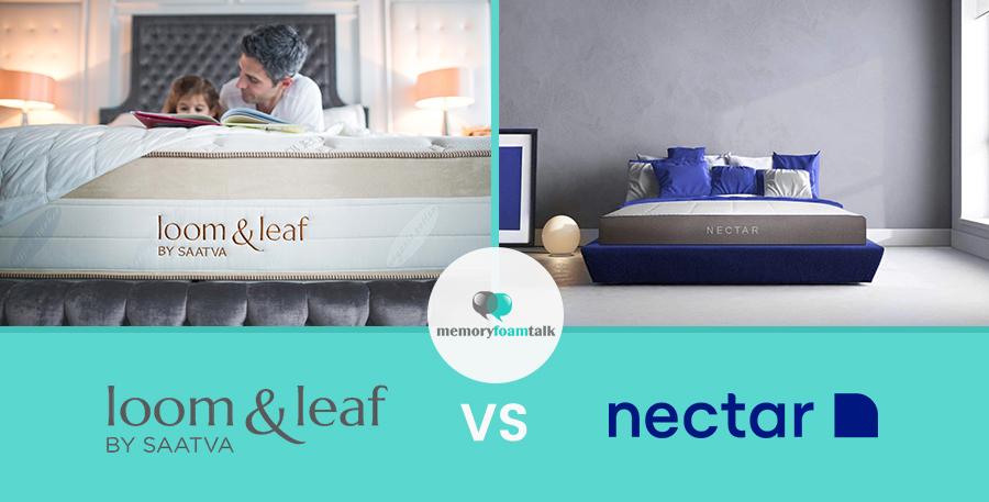 Loom & Leaf Vs Nectar | Memory Foam Talk
