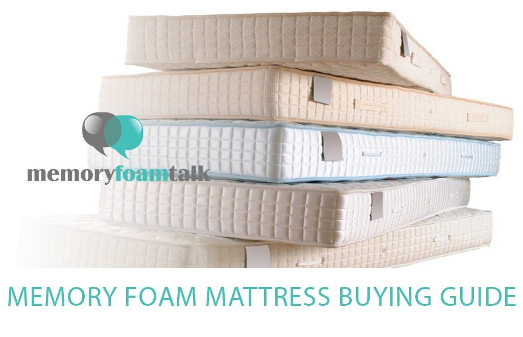 Memory Foam Mattress Buying Guide 2019