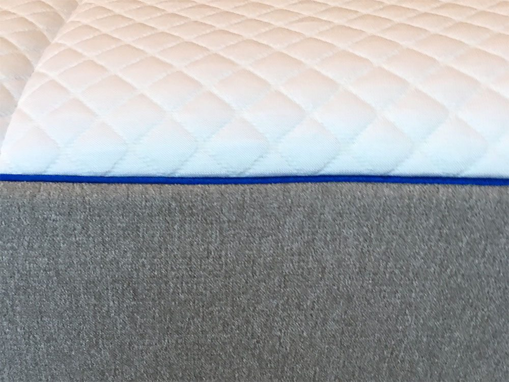 Nectar mattress side view