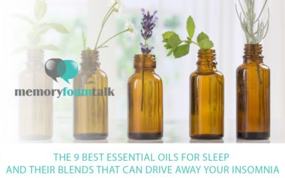 The 9 Best Essential Oils for Sleep and Their Blends That Can Drive Away Your Insomnia