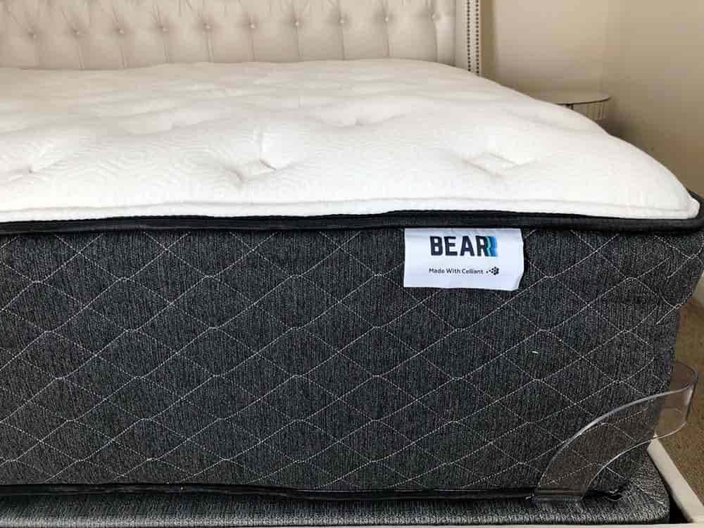 Bear hybrid mattress profile