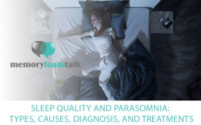 Sleep Quality and Parasomnia: Types, Causes, Diagnosis, and Treatments
