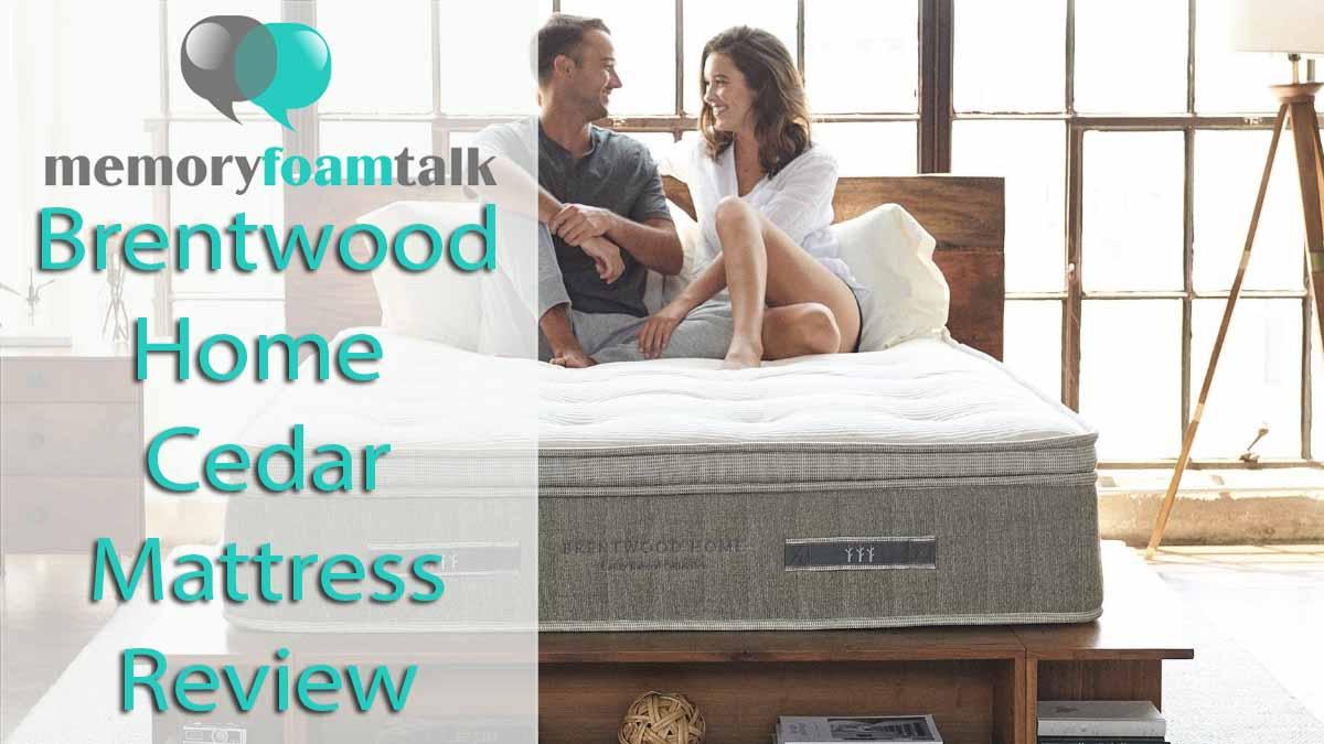 brentwood mattress youtube home edge support cedar watch