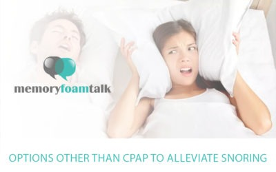 Options Other Than CPAP To Alleviate Snoring