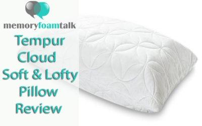 Tempur-Cloud Soft & Lofty Pillow Review