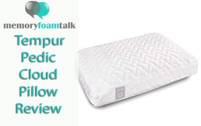 Tempur Pedic Cloud Pillow Review