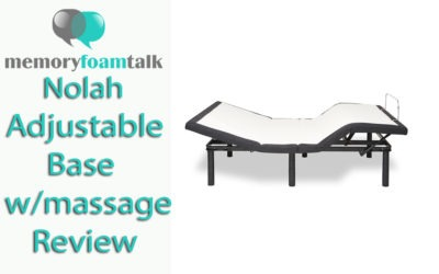 Nolah Adjustable Base w/massage Review