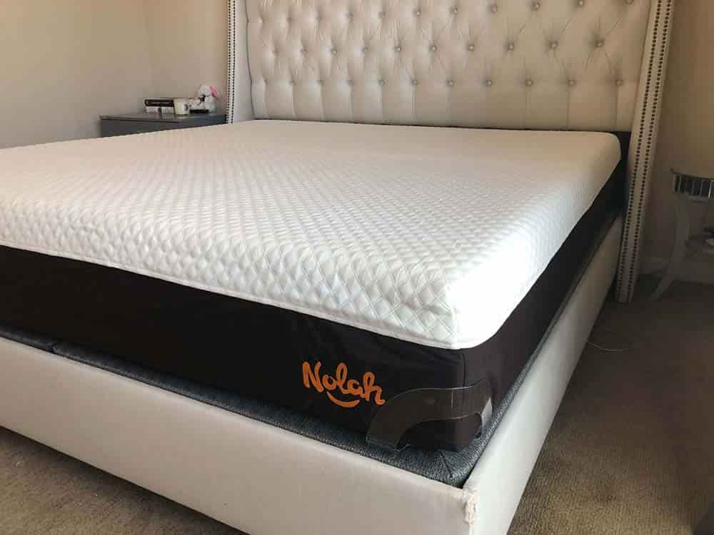 Nolah Signature Mattress Corner View