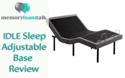 IDLE Sleep Adjustable Base Review
