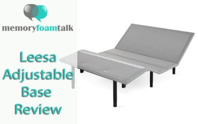 Leesa Adjustable Base Review