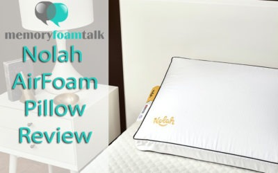 Nolah AirFoam Pillow Review