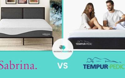 Sabrina vs. Tempur Pedic