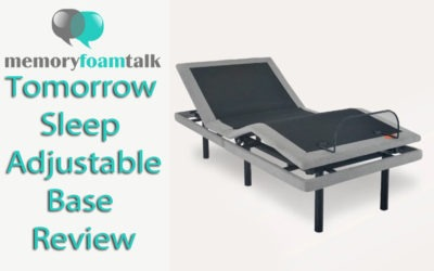 Tomorrow Sleep Adjustable Base Review