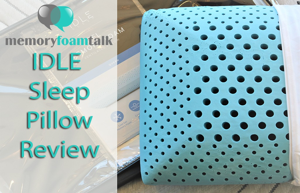 IDLE Sleep Pillow Review