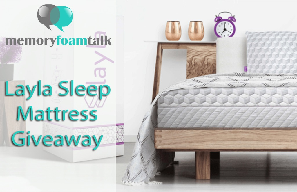 Layla Sleep Mattress Giveaway