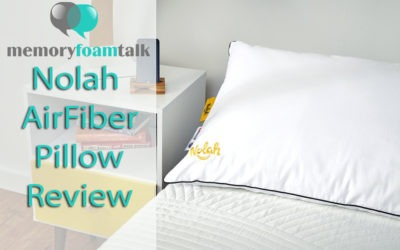 Nolah AirFiber Pillow Review