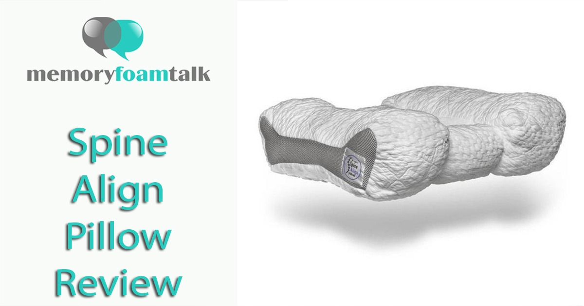 Spinealign Pillow Review Memory Foam Talk