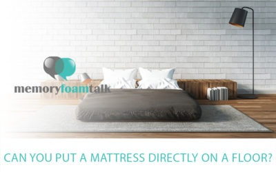 Can You Put a Mattress Directly on a Floor?