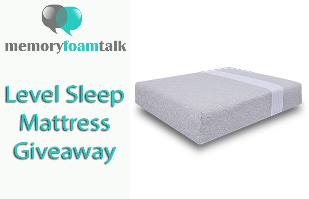Level Sleep Mattress Giveaway