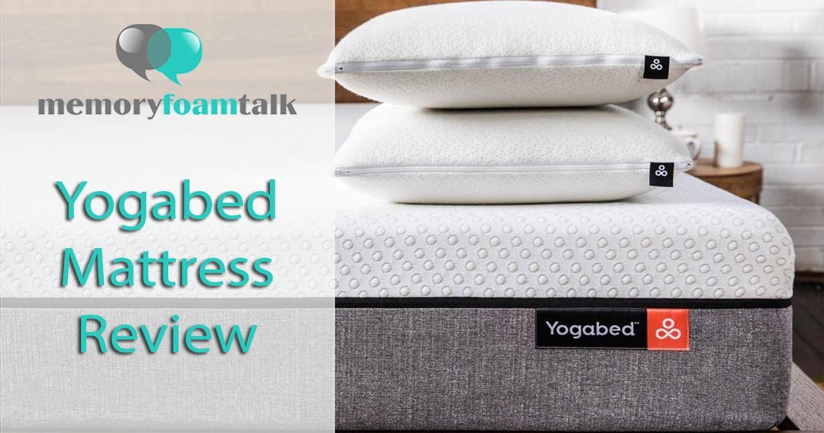 Yogabed Mattress Review L Universal Comfort Memory Foam