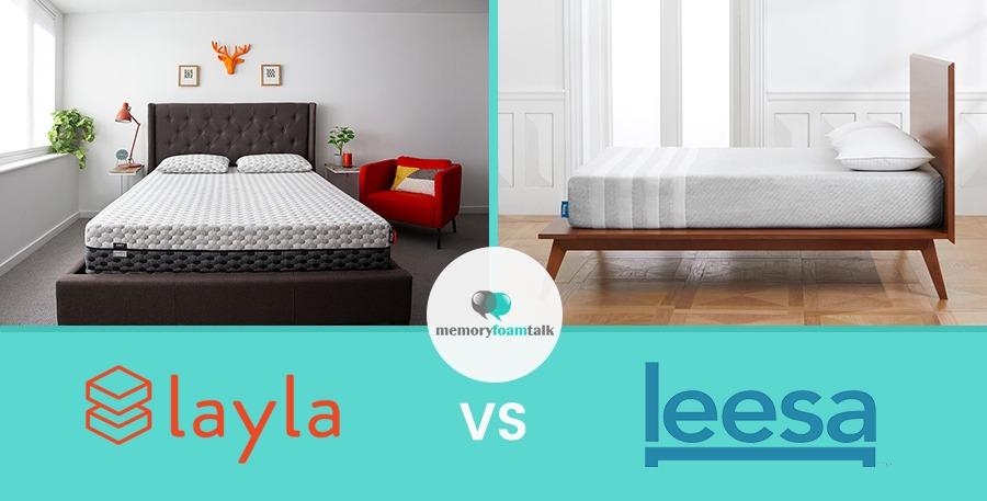 Layla vs. Leesa