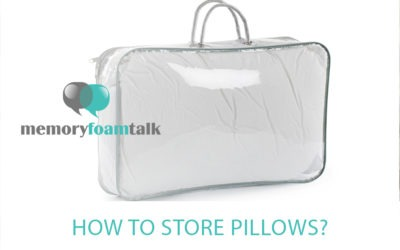 How To Store Pillows?