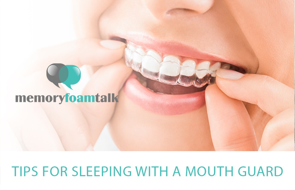 Tips for Sleeping With a Mouth Guard