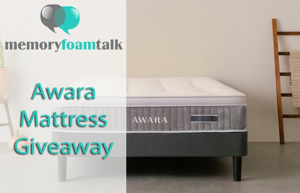mattress giveaway august 2019